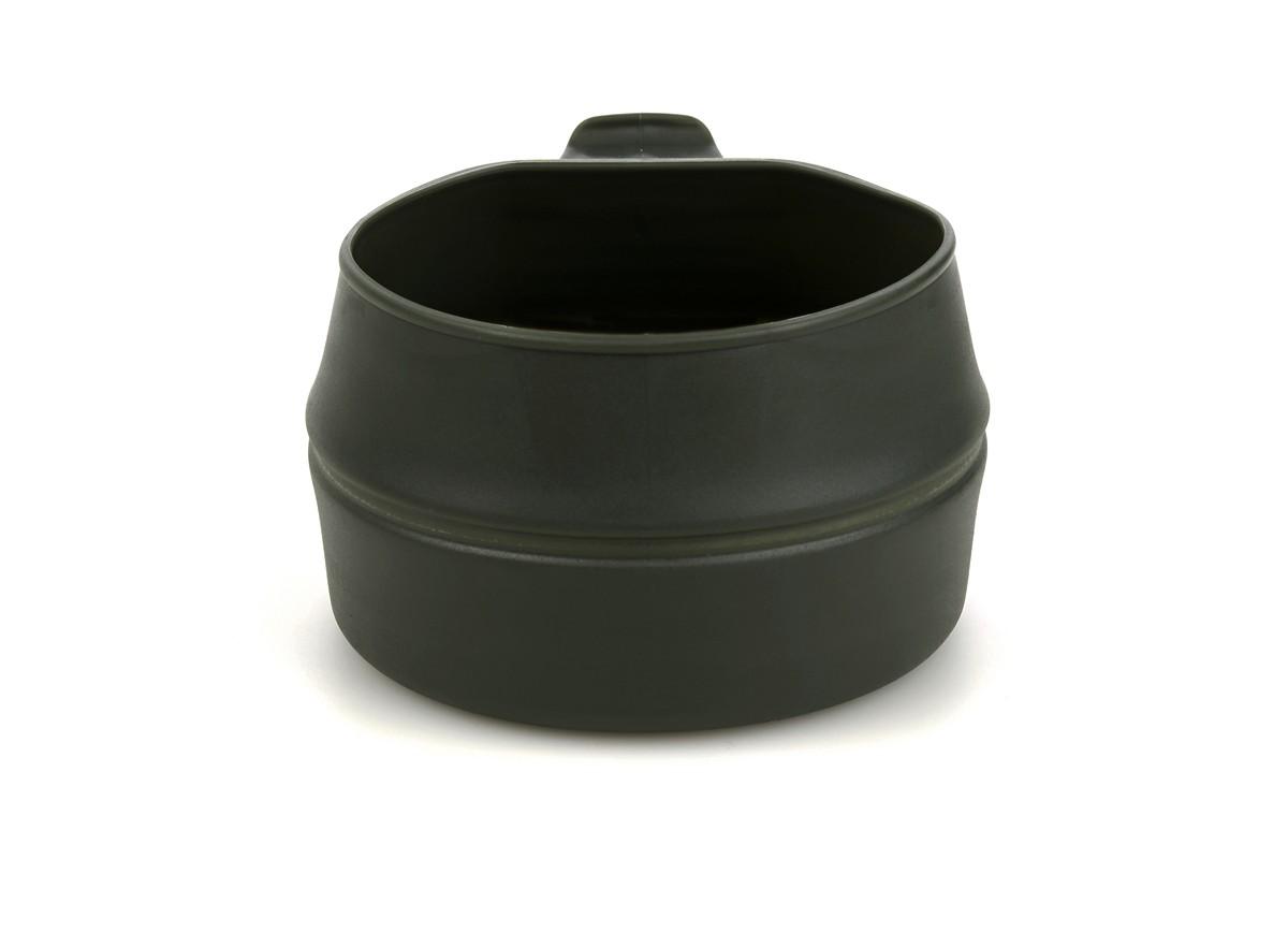 """Кружка складная Wildo """"Fold-a-Cup"""", портативная, цвет: оливковый. 10014"""
