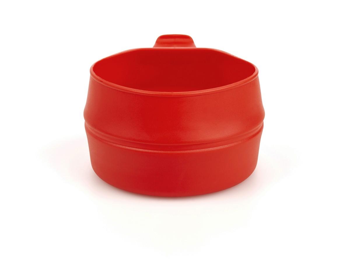 """Кружка складная Wildo """"Fold-a-Cup"""", портативная, цвет: красный, 0,25 л"""