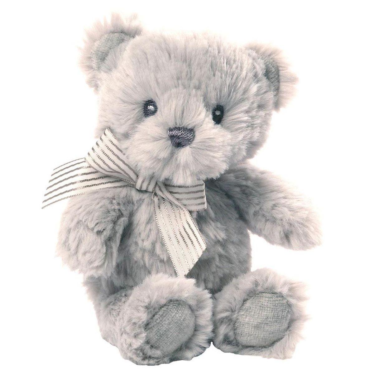 Gund Мягкая игрушка Grayson Bear Rattle 15 см gund мягкая игрушка arlo bear 18 см