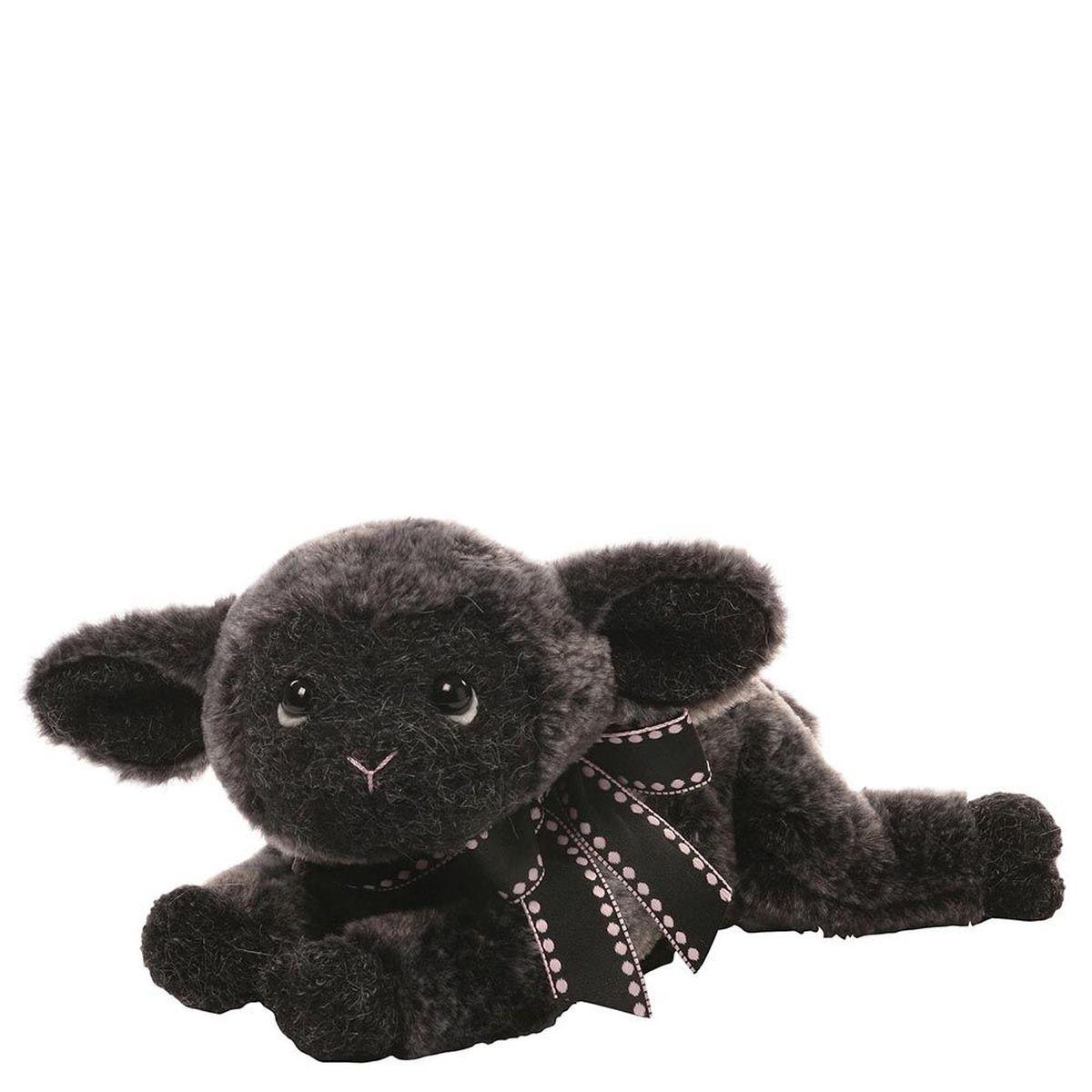Gund Мягкая игрушка Amalya Black Lamb 12,5 см gund мягкая игрушка arlo bear 18 см