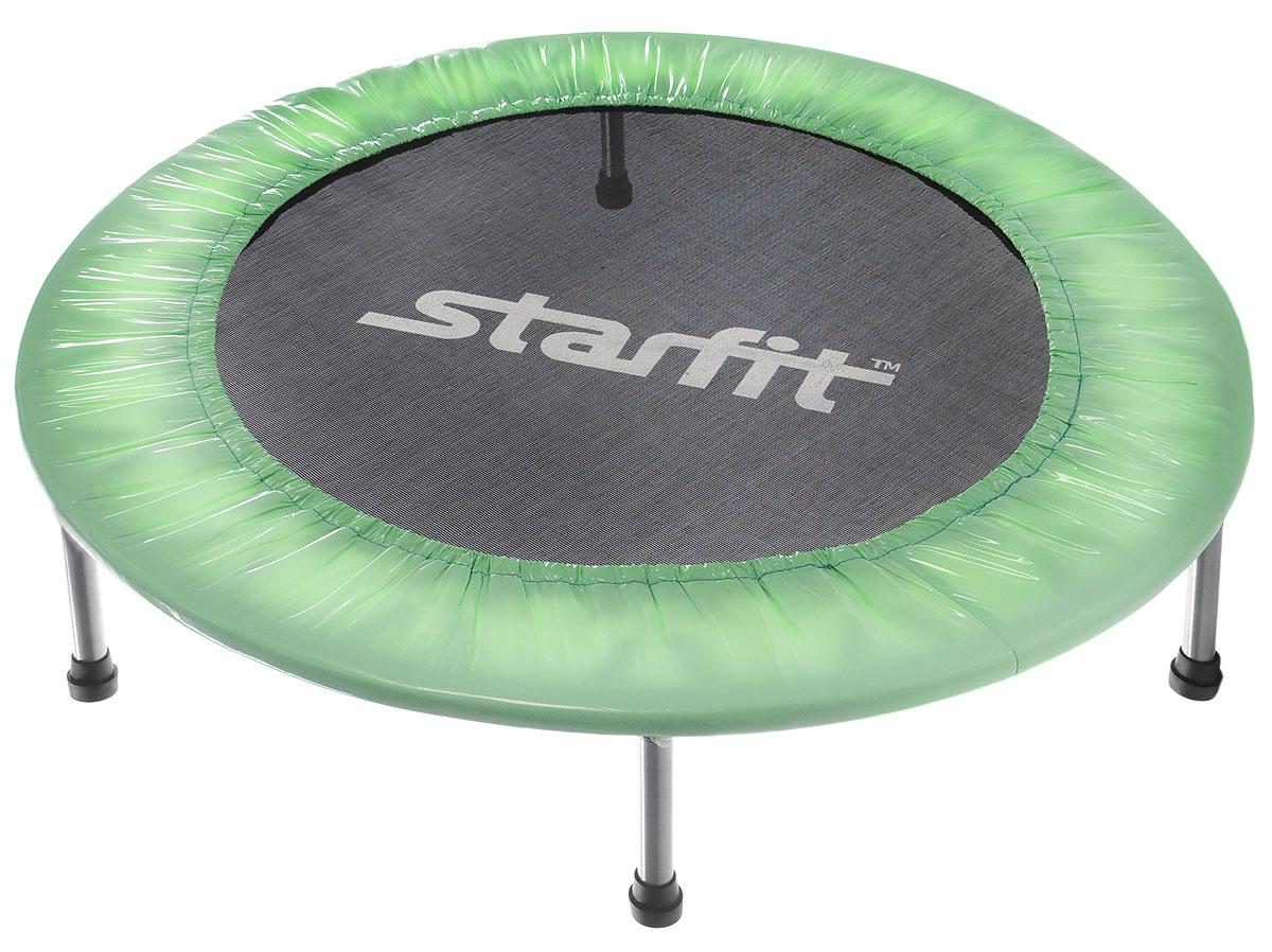 """Батут """"Starfit"""", цвет: мятный, черный, серый, диаметр 101 см"""