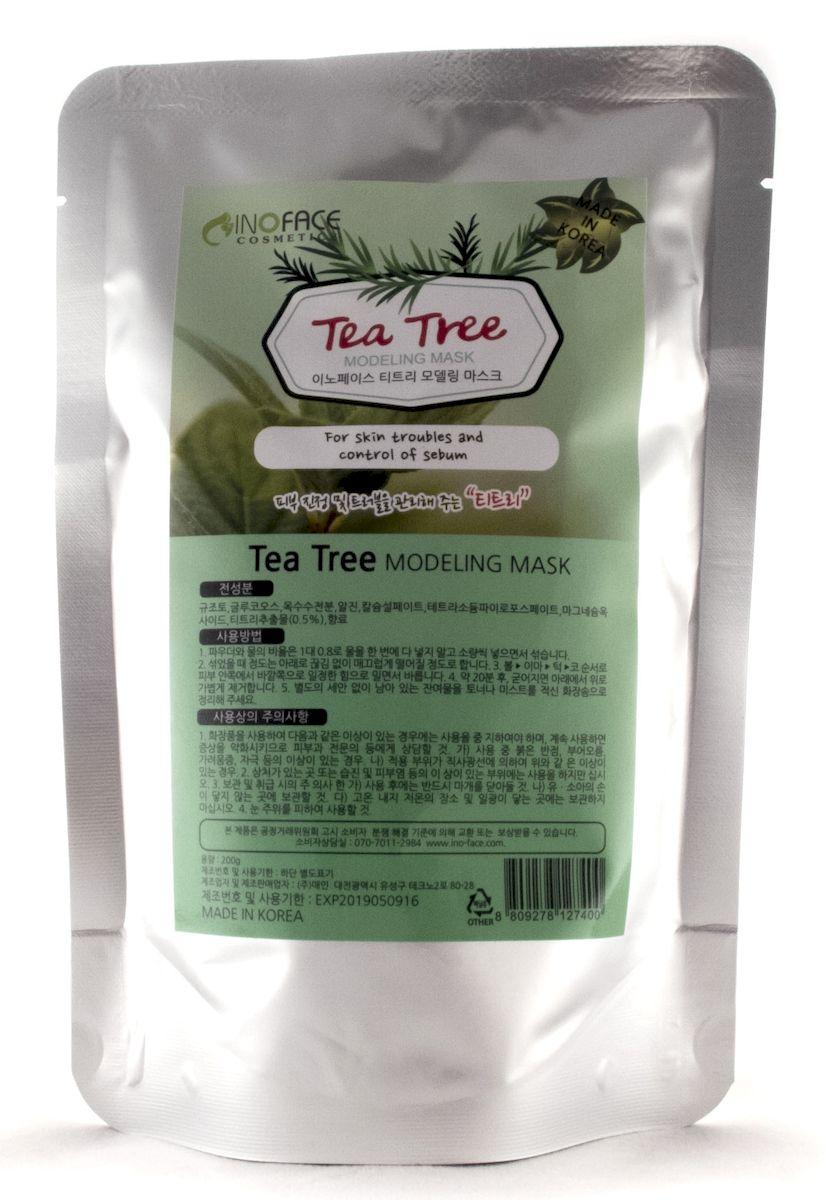 Inoface Альгинатная маска с чайным деревом для проблемной кожи с акне и черными точками, 200 гFS-00897Альгинатная маска с экстрактом чайного дерева эффективна при лечении угревой сыпи, гнойничков и прочих воспалительных процессов кожи. Экстракт чайного дерева - это идеальное антисептическое, противовоспалительное средство, которое дезинфицирует кожу и помогает ликвидировать акне. Маска лечит угревую сыпь, воспаления, другие повреждения кожного покрова лица, она сокращает поры кожи, уменьшая их рельеф. Маска снизит активность сальных желез, уберет жирный блеск и сделает кожу матовой.
