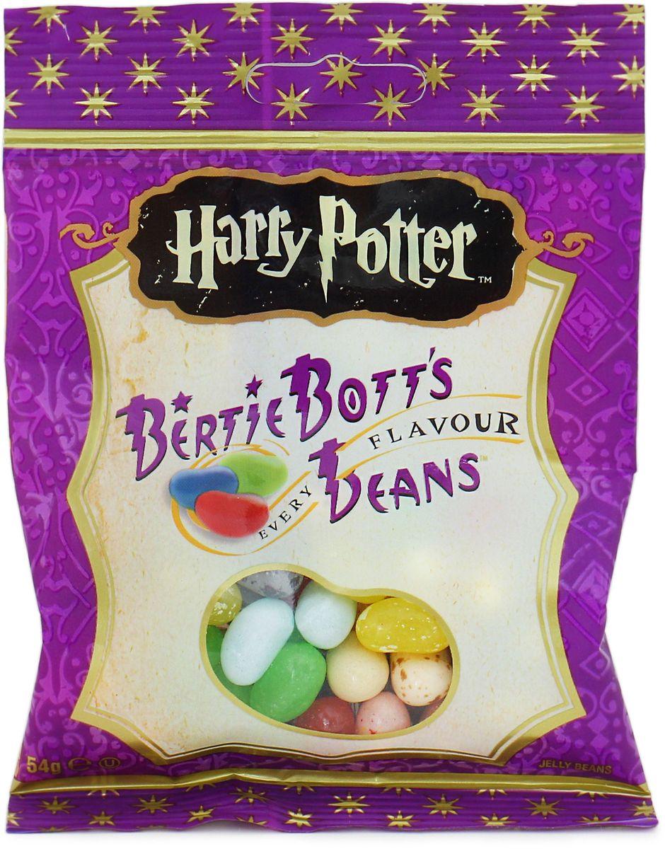Jelly Belly Bertie Botts драже жевательное ассорти, 54 г0120710Жевательное драже Jelly Belly Bertie Botts - это самые невероятные вкусы, собранные по всей волшебной вселенной Гарри Поттера. Ощутите себя ближе к любимым героям, почувствуйте атмосферу чародейства и волшебства вместе с Bertie Botts!Забавные драже скрывают под цветной оболочкой следующие вкусы: банан, спелая вишня, свежескошенная трава, черный перец, вкус корицы, мыло, сосиска, зеленое яблоко, черника, грязь, лимон, мультифрут, сопли, земляные червяки, рвота, зефир, арбуз, ушная сера, сахарная вата, протухшее яйцо - невероятные вкусы конфет Гарри Поттера способны удивительным образом оживить любую компанию друзей или родных, подняв настроение и превратив обычный вечер в невероятно яркое, надолго запоминающееся веселое событие!Уважаемые клиенты! Обращаем ваше внимание, что полный перечень состава продукта представлен на дополнительном изображении.
