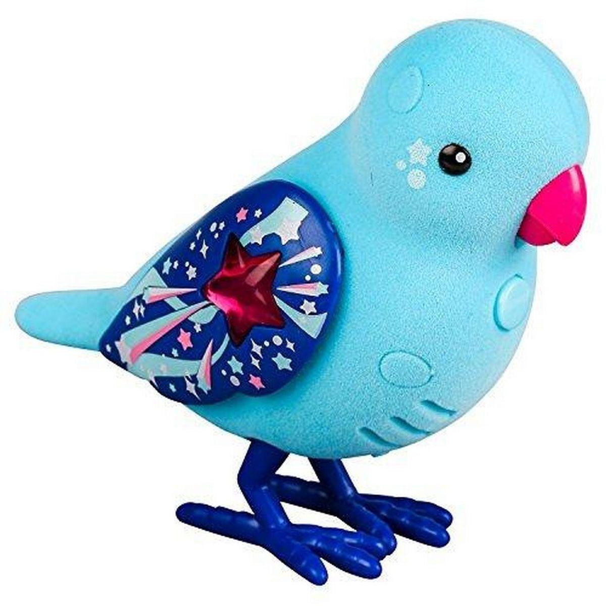 Little Live PetsИнтерактивная игрушка Птичка цвет голубой красный Moose