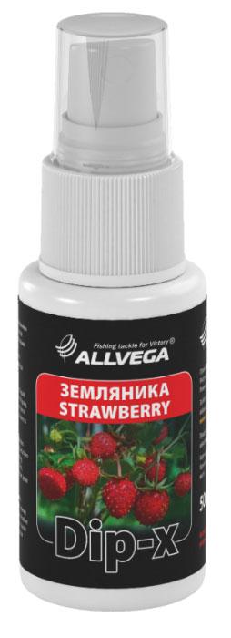 Ароматизатор-спрей Allvega Dip-X Strawberry, 50 мл52619Высококонцентрированный ароматизатор-спрей Allvega Dip-X Strawberry предназначен для быстрой ароматизации различных наживок и приманок, в том числе искусственных. Обладает запахом земляники.Товар сертифицирован.