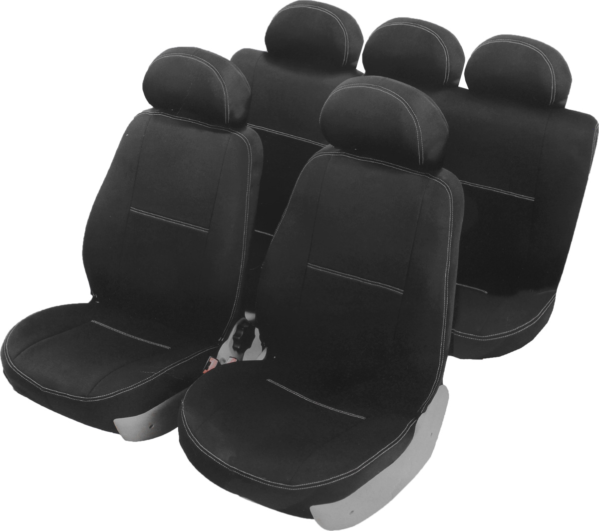 Чехлы автомобильные Azard Standard, для Hyundai Getz 2005-2011, раздельный задний рядA4011381Автомобильные чехлы Azard Standard изготовлены из качественного полиэстера, триплированного огнеупорным поролоном толщиной 3 мм, за счет чего чехол приобретает дополнительную мягкость. Подложка из спандбонда сохраняет свойства поролона и предотвращает его разрушение. Водительское сиденье имеет усиленные швы, все внутренние соединительные швы обработаны оверлоком. Чехлы идеально повторяют штатную форму сидений и выглядят как оригинальная обивка. Разработаны индивидуально для каждой модели автомобиля. Дизайн чехлов Azard Standard приближен к оригинальной обивке салона. Двойная декоративная контрастная прострочка по периметру авточехлов придает стильный и изысканный внешний вид интерьеру автомобиля. В спинках передних сидений расположены карманы, закрывающиеся на молнию. Чехлы сохраняют полную функциональность салона - трансформация сидений, возможность установки детских кресел ISOFIX, не препятствуют работе подушек безопасности AIRBAG и подогреву сидений. Для простоты установки используется липучка Velcro, учтены все технологические отверстия. Авточехлы Azard Standard просты в уходе - загрязнения легко удаляются влажной тканью. Чехлы имеют раздельную схему надевания.