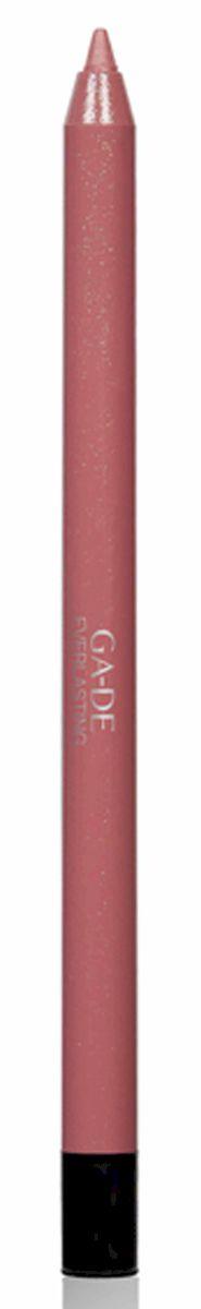 GA-DE Карандаш для губ Everlasting, тон № 84, 0,5 гSC-FM20104Плотная силиконовая текстура. Матовые и глянцевые оттенки. Устойчивая формула. Аргановое масло защищает кожу губ и обеспечивает мягкое и комфортное нанесение. Силиконовый карандаш корректирует контур губ. Он проводит чуть матовую линию, заполняет собой морщинки и не дает помаде или блеску растекаться. Хорошо подходят для использования летом и во время отпуска, так как не будет растекаться под воздействием солнца и жары.