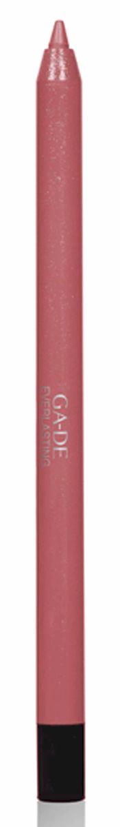 GA-DE Карандаш для губ Everlasting, тон № 87, 0,5 г1092018Плотная силиконовая текстура. Матовые и глянцевые оттенки. Устойчивая формула. Аргановое масло защищает кожу губ и обеспечивает мягкое и комфортное нанесение. Силиконовый карандаш корректирует контур губ. Он проводит чуть матовую линию, заполняет собой морщинки и не дает помаде или блеску растекаться. Хорошо подходят для использования летом и во время отпуска, так как не будет растекаться под воздействием солнца и жары.