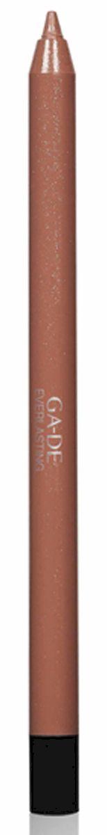 GA-DE Карандаш для губ Everlasting, тон № 88, 0,5 гSC-FM20101Плотная силиконовая текстура. Матовые и глянцевые оттенки. Устойчивая формула. Аргановое масло защищает кожу губ и обеспечивает мягкое и комфортное нанесение. Силиконовый карандаш корректирует контур губ. Он проводит чуть матовую линию, заполняет собой морщинки и не дает помаде или блеску растекаться. Хорошо подходят для использования летом и во время отпуска, так как не будет растекаться под воздействием солнца и жары.