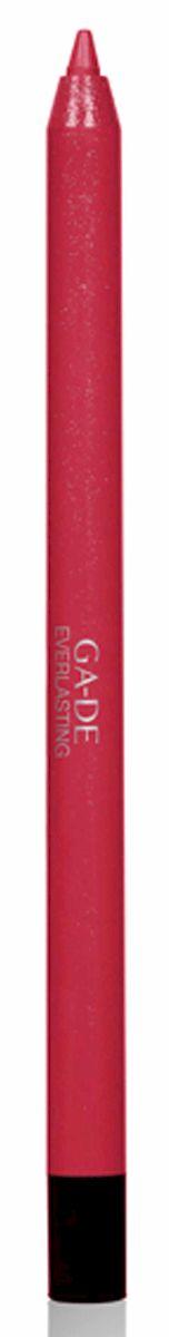 GA-DE Карандаш для губ Everlasting, тон № 94, 0,5 г28032022Плотная силиконовая текстура. Матовые и глянцевые оттенки. Устойчивая формула. Аргановое масло защищает кожу губ и обеспечивает мягкое и комфортное нанесение. Силиконовый карандаш корректирует контур губ. Он проводит чуть матовую линию, заполняет собой морщинки и не дает помаде или блеску растекаться. Хорошо подходят для использования летом и во время отпуска, так как не будет растекаться под воздействием солнца и жары.