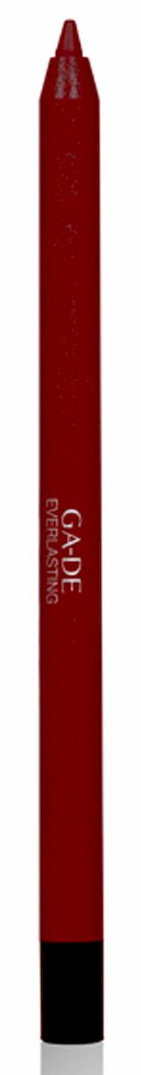 GA-DE Карандаш для губ Everlasting, тон № 95, 0,5 гMFM-3101Плотная силиконовая текстура. Матовые и глянцевые оттенки. Устойчивая формула. Аргановое масло защищает кожу губ и обеспечивает мягкое и комфортное нанесение. Силиконовый карандаш корректирует контур губ. Он проводит чуть матовую линию, заполняет собой морщинки и не дает помаде или блеску растекаться. Хорошо подходят для использования летом и во время отпуска, так как не будет растекаться под воздействием солнца и жары.