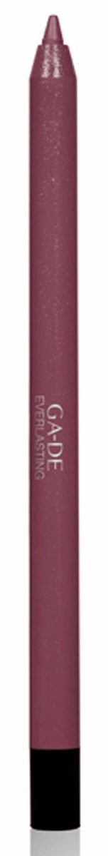 GA-DE Карандаш для губ Everlasting, тон № 96, 0,5 гSC-FM20104Плотная силиконовая текстура. Матовые и глянцевые оттенки. Устойчивая формула. Аргановое масло защищает кожу губ и обеспечивает мягкое и комфортное нанесение. Силиконовый карандаш корректирует контур губ. Он проводит чуть матовую линию, заполняет собой морщинки и не дает помаде или блеску растекаться. Хорошо подходят для использования летом и во время отпуска, так как не будет растекаться под воздействием солнца и жары.