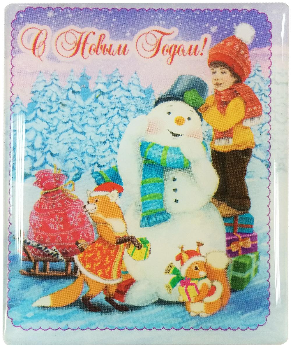 Магнит декоративный Magic Time Мальчик и снеговик, 6 х 5 см. 38374Брелок для ключейМагнит Magic Time Мальчик и снеговик, выполненный из агломерированного феррита, прекрасно подойдет в качестве сувенира к Новому году или станет приятным презентом в обычный день. Магнит - одно из самых простых, недорогих и при этом оригинальных украшений интерьера. Он поможет вам украсить не только холодильник, но и любую другую магнитную поверхность.Материал: агломерированный феррит.