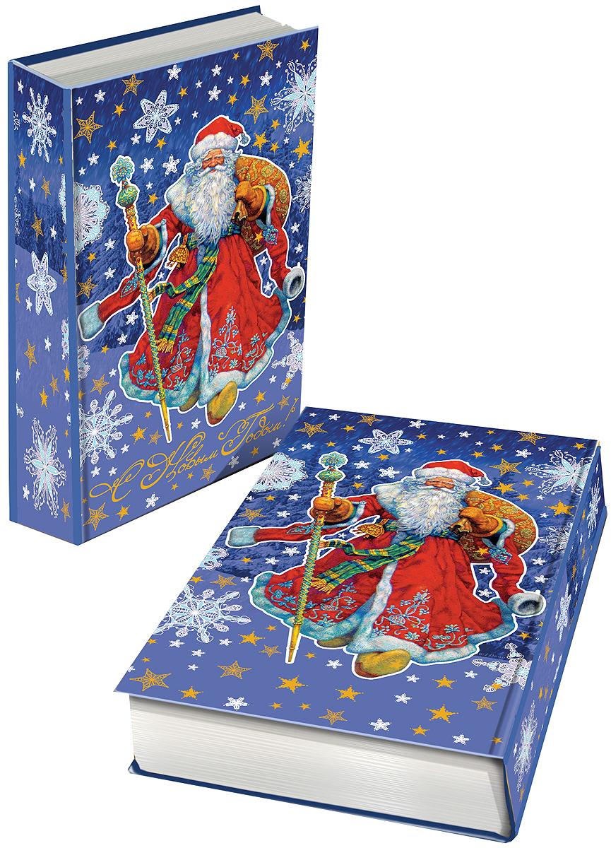 Шкатулка декоративная Magic Time Дед Мороз в красном кафтане, 17 х 11 х 5 см. 41709RG-D31SЯркая декоративная шкатулка Magic Time Дед Мороз в красном кафтане, выполненная из МДФ, не оставит равнодушным ни одного любителя оригинальных вещей. Изделие украшено оригинальном рисунком и закрывается на магнит. Такая шкатулка украсит интерьер вашей комнаты и станет не только декоративным, но и практичным аксессуаром - ее можно использовать для хранения украшений и мелочей.