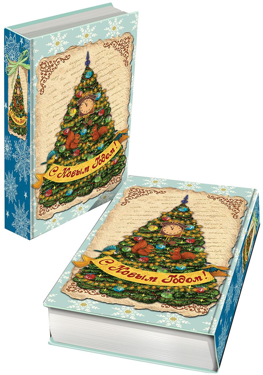 Шкатулка декоративная Magic Time Новогодняя елка, 17 х 11 х 5 см. 417153576Яркая декоративная шкатулка Magic Time Новогодняя елка, выполненная из МДФ, не оставит равнодушным ни одного любителя оригинальных вещей. Изделие украшено оригинальном рисунком и закрывается на магнит. Такая шкатулка украсит интерьер вашей комнаты и станет не только декоративным, но и практичным аксессуаром - ее можно использовать для хранения украшений и мелочей.