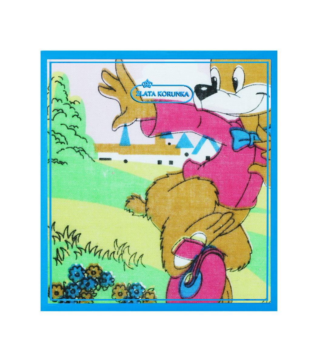 Платок носовой детский Zlata Korunka, цвет: зеленый, белый, желтый, 2 шт. 40230-13. Размер 21 см х 21 смБрошь-булавкаДетский носовой платок Zlata Korunka изготовлен из высококачественного натурального хлопка, благодаря чему приятен в использовании, хорошо стирается, не садится и отлично впитывает влагу, а также не раздражает нежную детскую кожу. Небольшой и практичный детский платочек без труда поместится в карман или школьный рюкзак ребенка и всегда будет под рукой.В комплекте 2 платка.