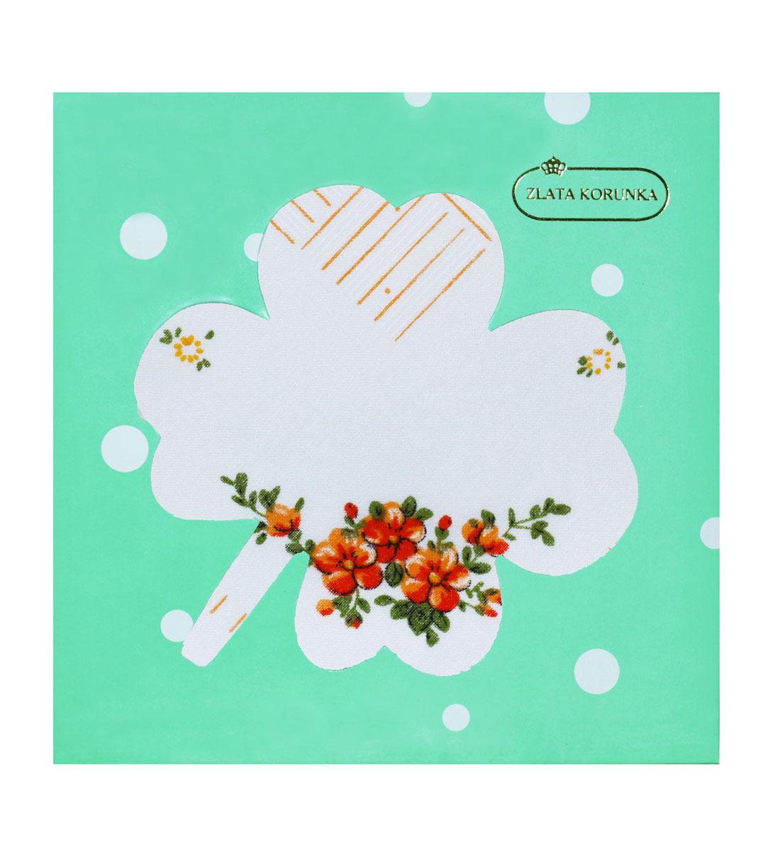Платок носовой женский Zlata Korunka, цвет: белый. 90126-18. Размер 28 см х 28 смСерьги с подвескамиОригинальный женский носовой платок Zlata Korunka изготовлен из высококачественного натурального хлопка, благодаря чему приятен в использовании, хорошо стирается, не садится и отлично впитывает влагу. Практичный и изящный носовой платок будет незаменим в повседневной жизни любого современного человека. Такой платок послужит стильным аксессуаром и подчеркнет ваше превосходное чувство вкуса.