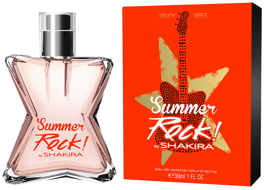 Shakira Fruity Rock Summer Edition Туалетная вода, женская, 30 мл shakira цена