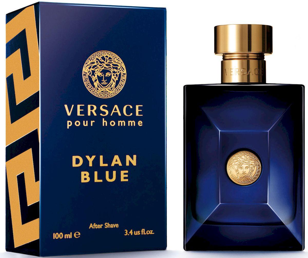 Versace Dylan Blue Лосьон после бритья 100 мл28032022Уникальность этого фужерного аромата заключается в ярком фужерном шлейфе, неповторимом сочетании природных компонентов и синтетических молекул последнего поколения. Аромат: древесный, ароматический, фужерный.