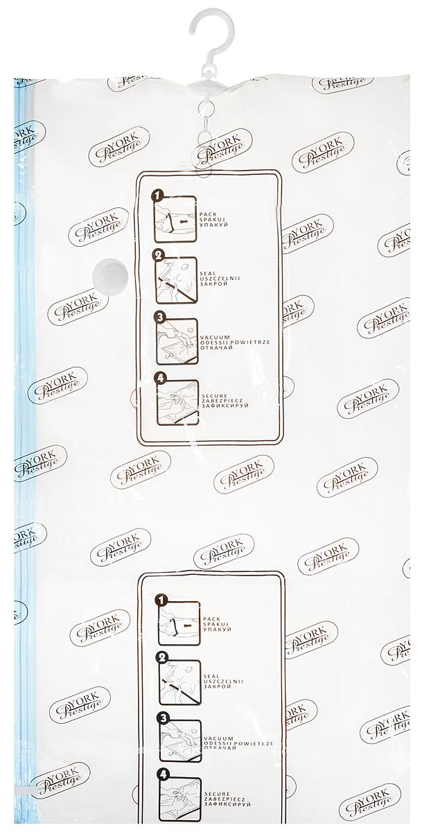 """Фото Вакуумный мешок с вешалкой York """"Prestige"""", 110 х 60 см. 9305. Купить в РФ"""