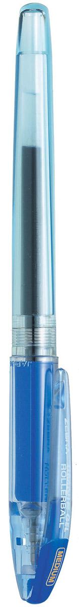 Zebra Ручка гелевая Jimnie Hyper Jell цвет синий72523WDГелевая ручка Zebra Jimnie Hyper Jell оснащена системой двойной шарик, которая позволяет писать очень мягко и аккуратно, до последней капли чернил. Второй шарик в никелированном наконечнике стержня контролирует поступление чернил. Чернила не расплываются под водой и не теряют яркости со временем.