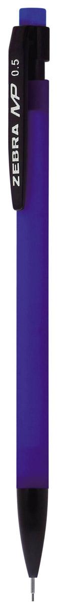 Zebra Карандаш механический MP цвет корпуса синий72523WDМеханический карандаш Zebra MP идеален для письма и черчения.Корпус карандаша круглой формы выполнен из пластика и дополнен ластиком. Мягкое комфортное письмо и тонкие линии при написании принесут вам максимум удовольствия. Порадуйте друзей и знакомых, оказав им столь стильный знак внимания.