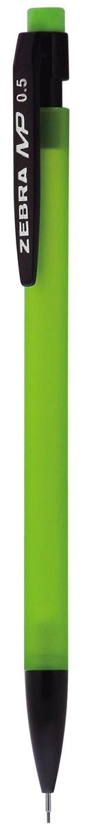 Zebra Карандаш механический MP цвет корпуса салатовый231552Механический карандаш Zebra MP идеален для письма и черчения.Корпус карандаша круглой формы выполнен из пластика и дополнен ластиком. Мягкое комфортное письмо и тонкие линии при написании принесут вам максимум удовольствия. Порадуйте друзей и знакомых, оказав им столь стильный знак внимания.