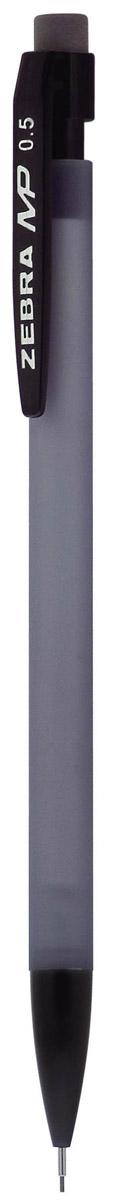 Zebra Карандаш механический MP цвет корпуса серый2010440Механический карандаш Zebra MP идеален для письма и черчения.Корпус карандаша круглой формы выполнен из пластика и дополнен ластиком. Мягкое комфортное письмо и тонкие линии при написании принесут вам максимум удовольствия. Порадуйте друзей и знакомых, оказав им столь стильный знак внимания.