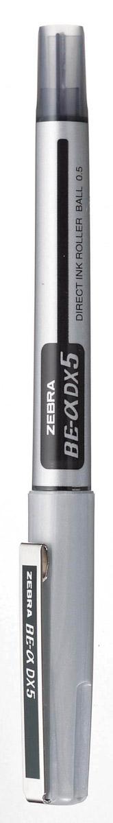 Zebra Ручка-роллер BE-& DX5 цвет чернил черный72523WDРучка-роллер Zebra BE-& DX5, как и другие роллеры серии Zeb-Roller, может писать вверх ногами. Снабжена наконечником иглообразного типа из нержавеющей стали и стальным зажимом.Серию ручек-роллеров Zeb-Roller отличает разработанная компанией Zebra система прямой подачи чернил (Direct Ink System), позволяющая писать очень быстро и практически без нажима. Идеальная линия письма до последней капли чернил, запас которых виден в полупрозрачном окошке пластикового корпуса. Необычайно большой запас чернил усовершенствованной формулы эквивалентен нескольким сменным стержням стандартной шариковой ручки.