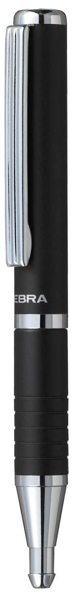 Zebra Ручка шариковая Slide цвет корпуса черныйPP-220Шариковая ручка Zebra Slide идеально подходит для записных книжек и органайзеров. В рабочем состоянии ручка раздвигается, приобретая длину обычной ручки, в закрытом виде очень компактна. Строгий стильный дизайн понравится всем любителям классики.