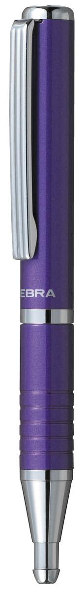 Zebra Ручка шариковая Slide синяя в фиолетовом корпусе2010440В рабочем состоянии ручка раздвигается, приобретая длину обычной ручки, в закрытом виде очень компактна. Строгий стильный дизайн понравиться всем любителям классики. Модель идеально подходит для записных книжек и органайзеров.