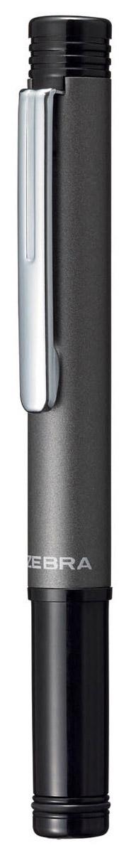 Zebra Ручка шариковая M-5 цвет корпуса черный730396Миниатюрная шариковая ручка Zebra M-5 легко умещается в дамской сумочке. Удлиненный металлический колпачок, надетый с нерабочей стороны ручки, компенсирует ее небольшую длину. Эта модель идеально подходит для записных книжек и органайзеров.