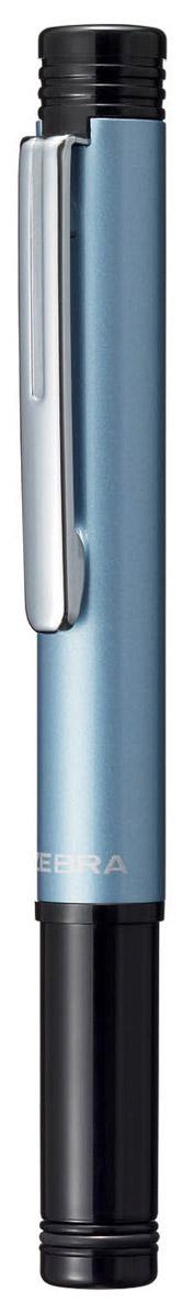 Zebra Ручка шариковая M-5 цвет корпуса синийFS-00103Миниатюрная шариковая ручка Zebra M-5 легко умещается в дамской сумочке. Удлиненный металлический колпачок, надетый с нерабочей стороны ручки, компенсирует ее небольшую длину. Эта модель идеально подходит для записных книжек и органайзеров.