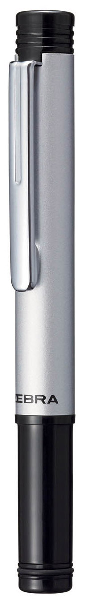 Zebra Ручка шариковая M-5 цвет корпуса серебристыйB811928Миниатюрная шариковая ручка Zebra M-5 легко умещается в дамской сумочке. Удлиненный металлический колпачок, надетый с нерабочей стороны ручки, компенсирует ее небольшую длину. Эта модель идеально подходит для записных книжек и органайзеров.