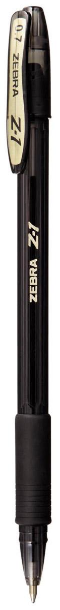 Zebra Ручка шариковая Z-1 Colour цвет корпуса черный72523WDТонированный пластик корпуса глубоких насыщенных цветов, придает ручке Zebra Z-1 Colour современный и стильный дизайн с сохранением всех достоинств классической модели Z-1. Уникальные чернила, сочетающие свойства шариковых и гелевых ручек: как шариковые ручки – они экономичны (долго пишут), не растекаются под водой и не выцветают со временем, при этом обеспечивая мягкое и легкое письмо подобно гелевым.