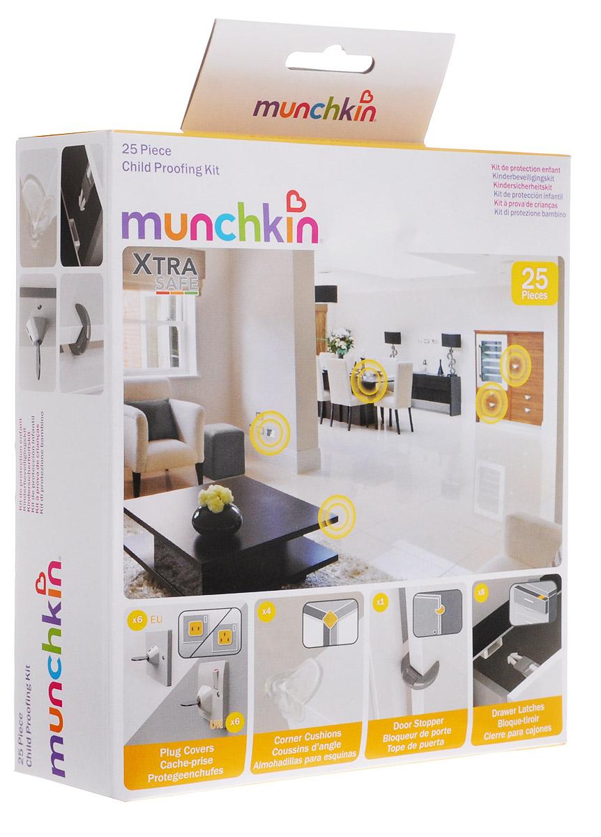 Munchkin Защитный набор Безопасный дом XtraSafe 25 предметов -  Блокирующие и защитные устройства