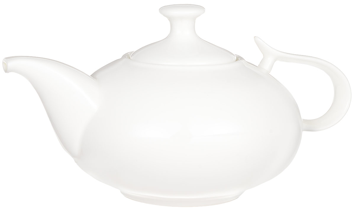Чайник заварочный Wilmax, 1,15 л. WL-994000391602Заварочный чайник Wilmax изготовлен из высококачественного фарфора. Глазурованное покрытие обеспечивает легкую очистку. Изделие прекрасно подходит для заваривания вкусного и ароматного чая, а также травяных настоев. Отверстия в основании носика препятствует попаданию чаинок в чашку. Оригинальный дизайн сделает чайник настоящим украшением стола. Он удобен в использовании и понравится каждому.Можно мыть в посудомоечной машине и использовать в микроволновой печи. Диаметр чайника (по верхнему краю): 7,5 см. Высота чайника (без учета крышки): 10 см. Высота чайника (с учетом крышки): 13,5 см.