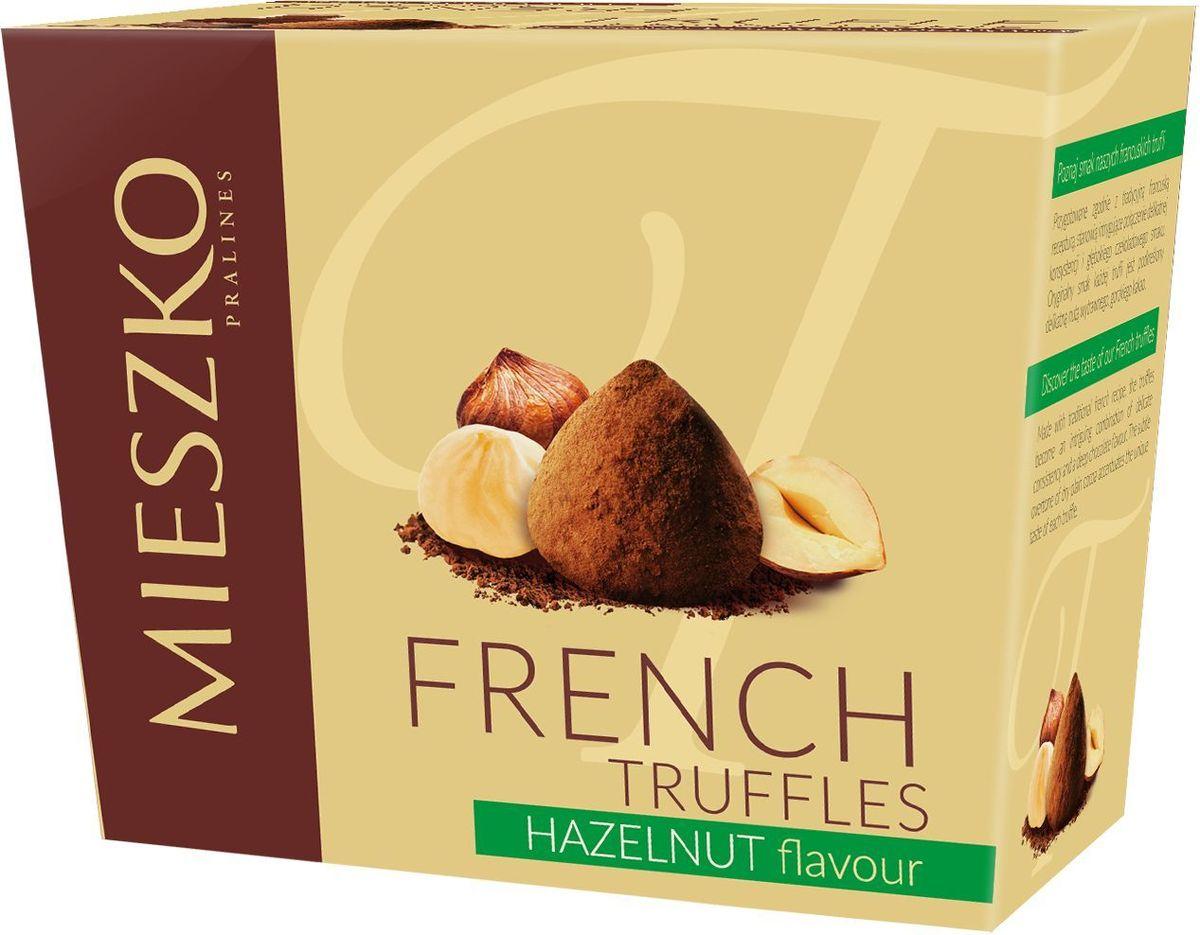 Mieszko Трюфель Французский со вкусом ореха набор шоколадных конфет, 175 г0120710Французские трюфели являются идеальным выбором при поиске чрезвычайно привлекательного и небольшого подарка. Это сложное кондитерское изделие имеет удивительно уникальный шоколадный аромат и мягкий вкус. Своим уникальным характером французские трюфели обязаны своим горьким нотам натурального какао, вкус которого оставит человека в отличном настроении.Уважаемые клиенты! Обращаем ваше внимание, что полный перечень состава продукта представлен на дополнительном изображении.