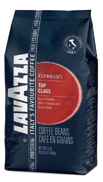 Lavazza Top Class Gran Gusto кофе в зернах, 1 кг0120710Кофе Lavazza Top Class Gran Gusto отличает насыщенный аромат чистого шоколада. Особенно подходит для приготовления фирменных коктейлей I Piaceri del Caffe, а также для кофе, ароматизированного шоколадом, орехом или амаретто. Сохраняет свои вкусовые характеристики даже в ледяных кофейных напитках.