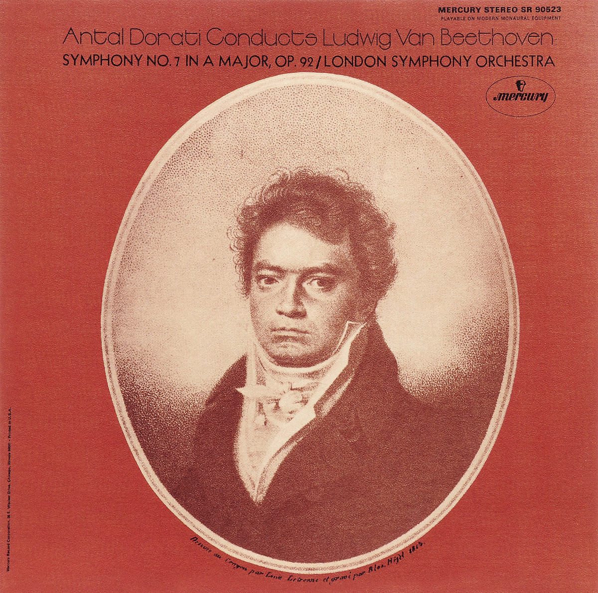 Антал Дорати,The London Symphony Orchestra Dorati. Beethoven: Symphony No.7 (LP)