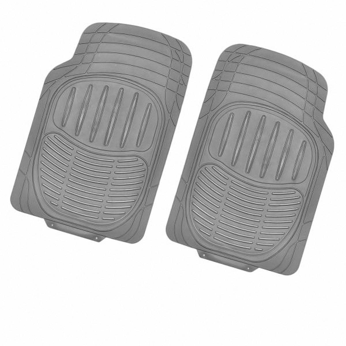 Коврик в салон автомобиля Skyway, передний, цвет: серый, 72 х 49 см, 2 шт12001001Комплект универсальных передних ковриков салона сохраняет эластичность даже при экстремально низких и высоких температурах (от -50°С до +50°С). Обладает повышенной устойчивостью к износу и агрессивным средам, таким как антигололёдные реагенты, масло и топливо. Усовершенствованная конструкция изделия обеспечивает плотное прилегание и надёжную фиксацию коврика на полу автомобиля.Размер: 72 х 49 см.Комплектация: 2 шт.