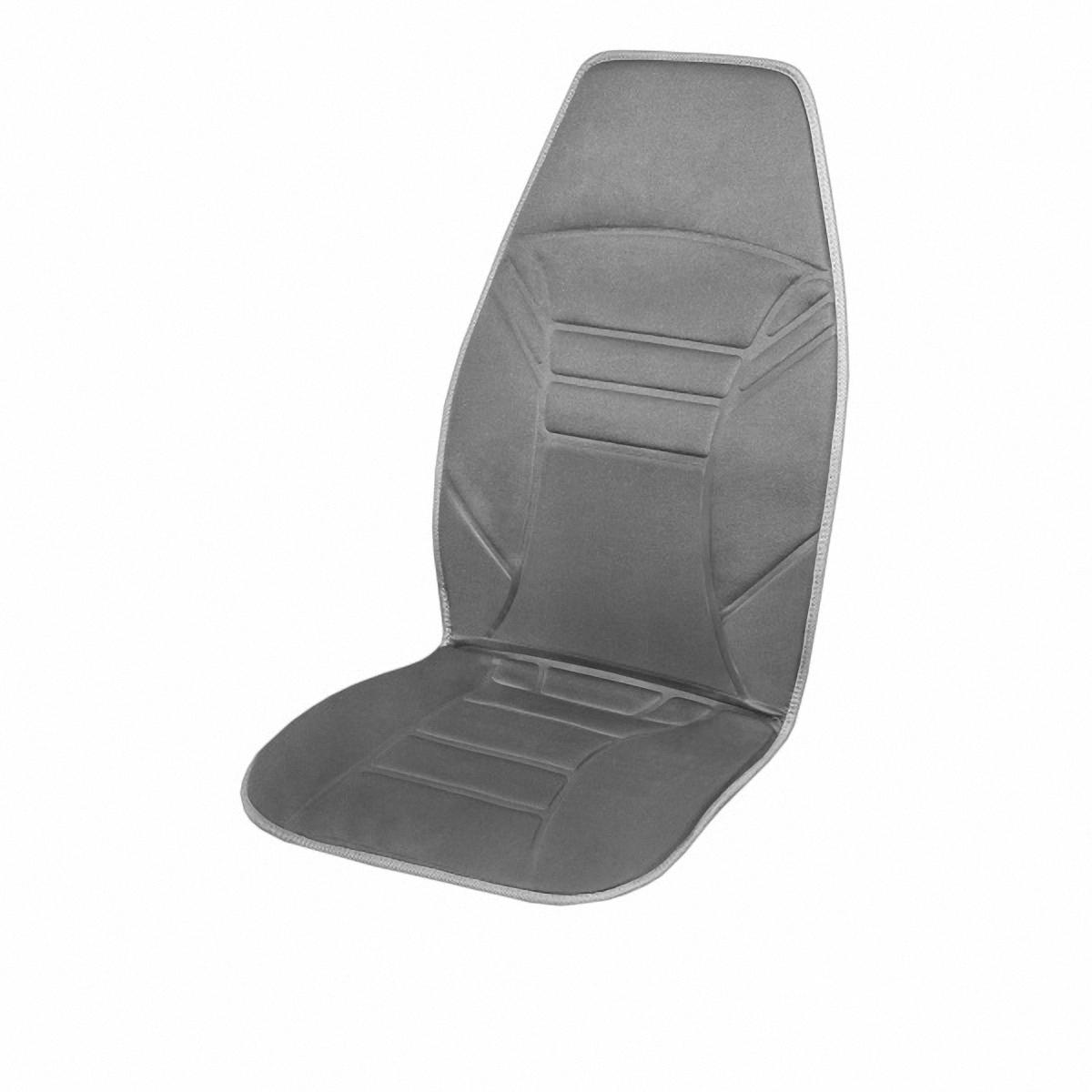 Подогрев для сиденья Skyway, со спинкой. S02201001Ветерок 2ГФПодогрев сиденья со спинкой с терморегулятором (2 режима) 12V; 2,5А-3А . Подогрев сидения – это сезонный товар и большой популярностью пользуется в осенне-зимний период. ТМ SKYWAY предлагает наружные подогревы сидений, изготовленные в виде накидки на автомобильное кресло. Преимущество наружных подогревов в простоте установки. Они крепятся ремнями к креслу автомобиля и подключаются к бортовой сети через гнездо прикуривателя.