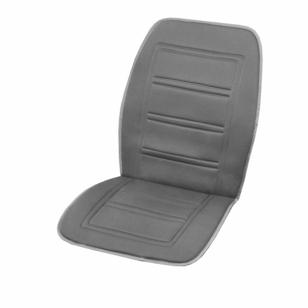 Чехол автомобильный Skyway, с подогревом, цвет: серый, 95 х 47 см21395599Чехол на сиденье Skyway предназначен для обогрева водителя или пассажира в автомобиле. Особенности:Универсальный размер.Снижает усталость при управлении автомобилем.Обеспечивает комфортное вождение в холодное время года. Простая и быстрая установка.Умеренный и интенсивный режим нагрева.Терморегулятор для изменения интенсивности нагрева.Защита крепления шнура питания к подогреву.Питание от гнезда прикуривателя 12В.Размер: 95 х 47 см.