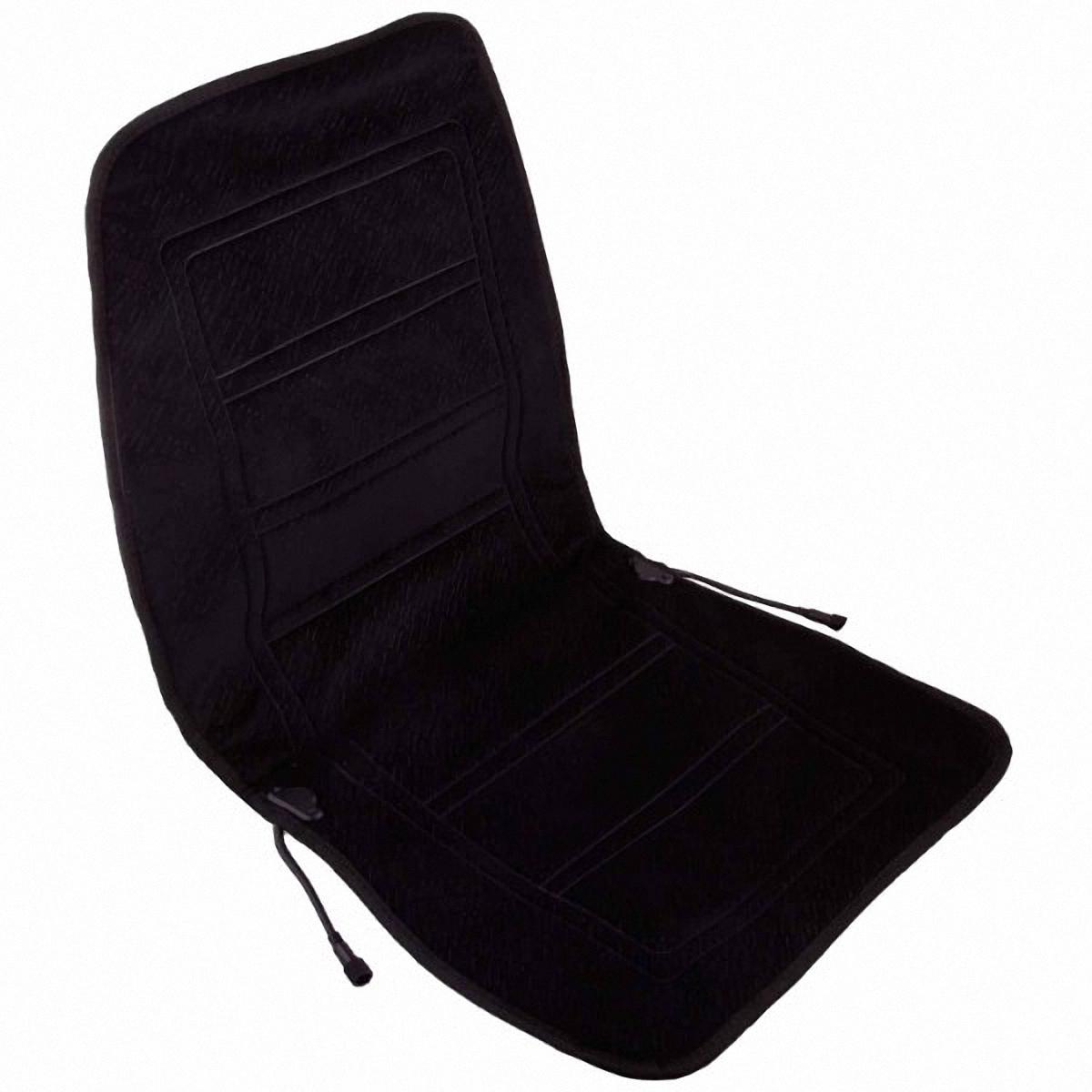 Подогрев для сиденья Skyway, со спинкой, цвет: черный, 95 х 47 смDH2400D/ORВ подогреве для сиденья Skyway в качестве теплоносителя применяется углеродный материал. Такой нагреватель обладает феноменальной гибкостью и прочностью на разрыв в отличие от аналогов, изготовленных из медного или иного металлического провода.Особенности:- Универсальный размер.- Снижает усталость при управлении автомобилем.- Обеспечивает комфортное вождение в холодное время года.- Простая и быстрая установка.- Умеренный и интенсивный режим нагрева.- Терморегулятор для изменения интенсивности нагрева.- Защита крепления шнура питания к подогреву.Устройство подключается к прикуривателю на 12V.