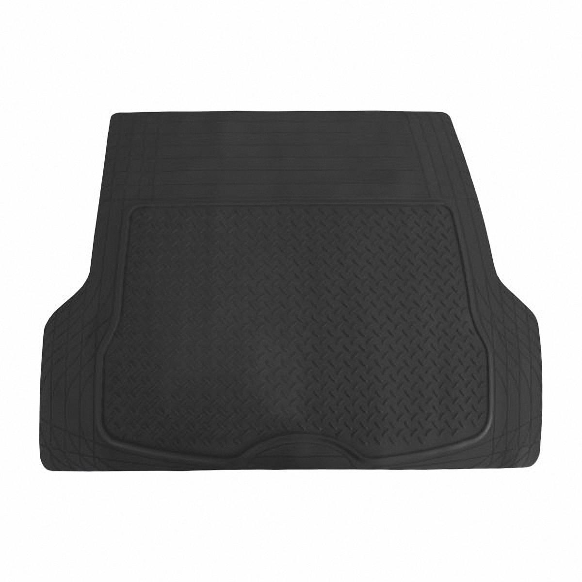 Коврик в салон автомобиля Skyway, в багажник, цвет: черный, 109,5 х 144 смDv18dblКоврик сохраняет эластичность даже при экстремально низких и высоких температурах (от -50°С до +50°С). Обладает повышенной устойчивостью к износу и агрессивным средам, таким как антигололёдные реагенты, масло и топливо. Усовершенствованная конструкция изделия обеспечивает плотное прилегание и надёжную фиксацию коврика на полу автомобиля.Размер: 109,5 х 144 см.
