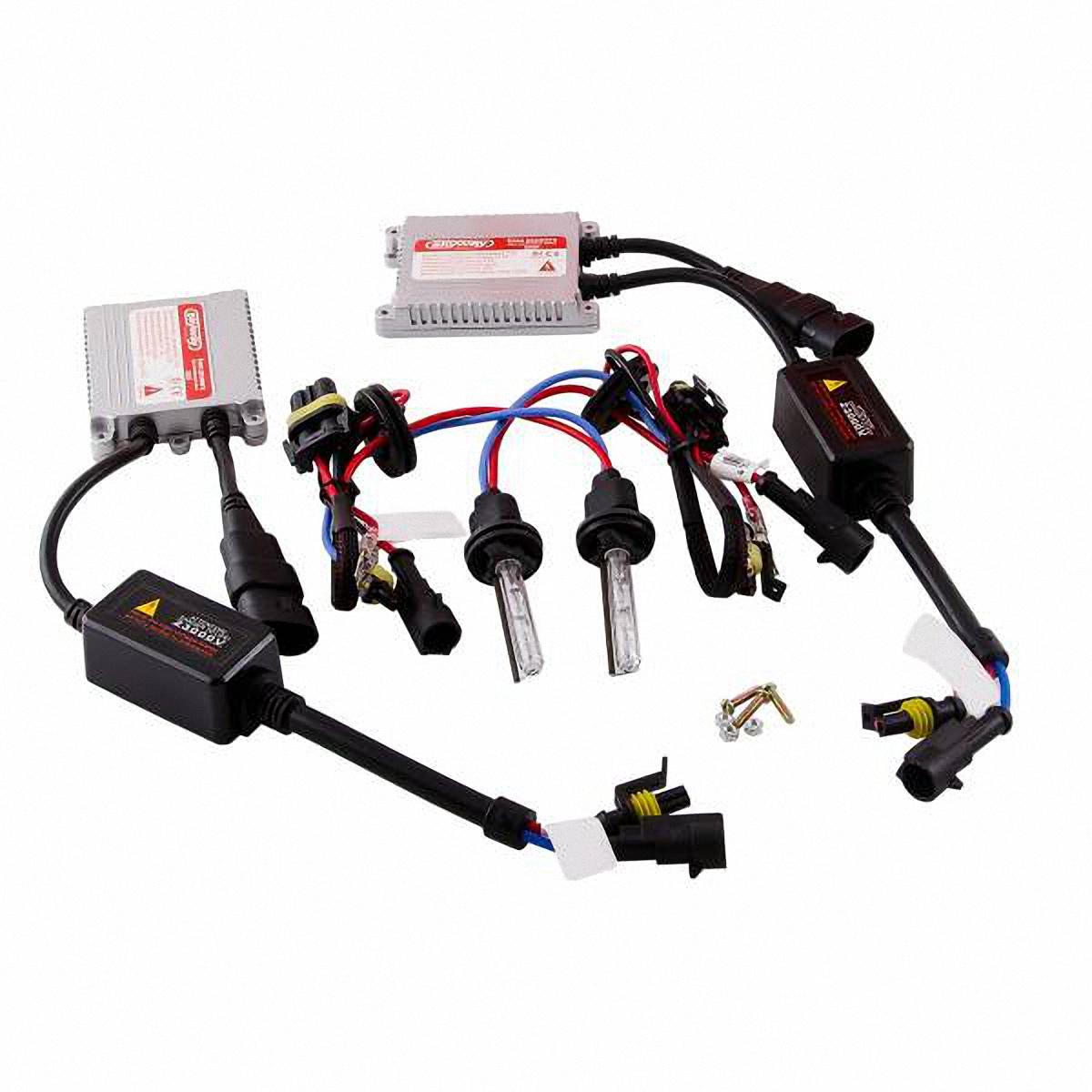 Skyway Автолампа ксенон H3. SH3 5000K D13 12V35WS03301004Комплектация:Лампа газоразрядная ксеноновая – 2 шт.Блок розжига – 2 шт.Винты для блока розжига – 6 шт.Гарантийный талон – 1 шт.Инструкция - 1 шт.
