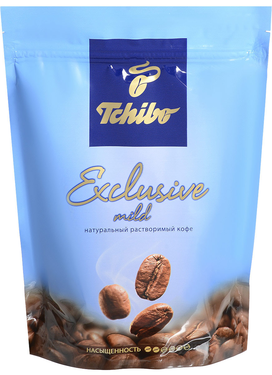 Tchibo Exclusive Mild кофе растворимый, 150 г лопатка tchibo