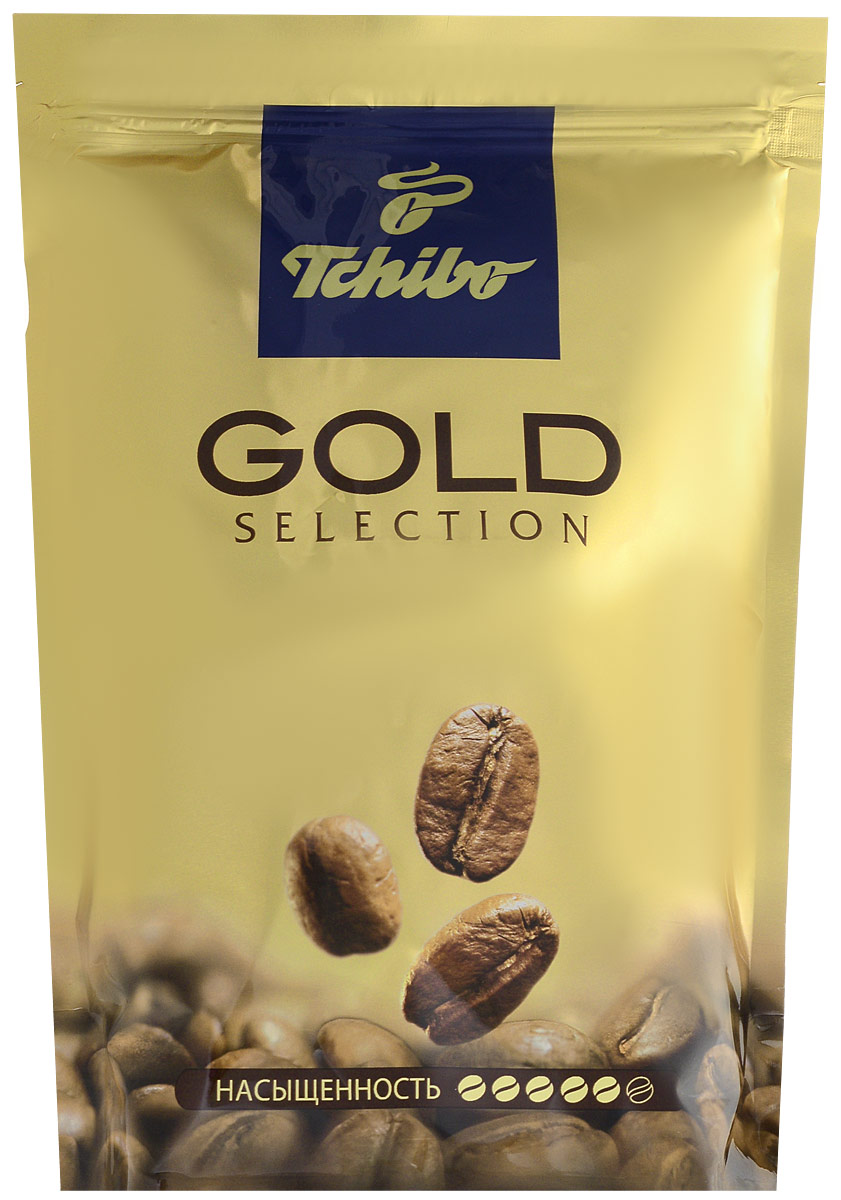 Tchibo Gold Selection кофе растворимый, 285 г лопатка tchibo