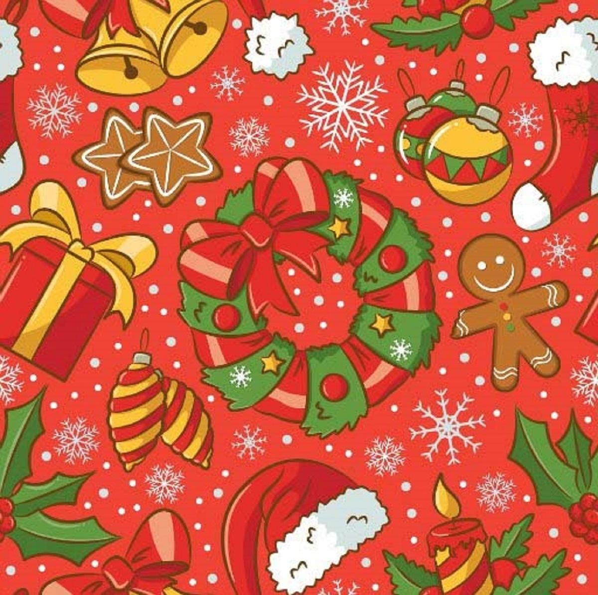 Салфетки бумажные Gratias Рождество, цвет: красный, трехслойные, 33 х 33 см, 20 шт787502Для бытового и санитарно-гигиенического назначения одноразового использования.