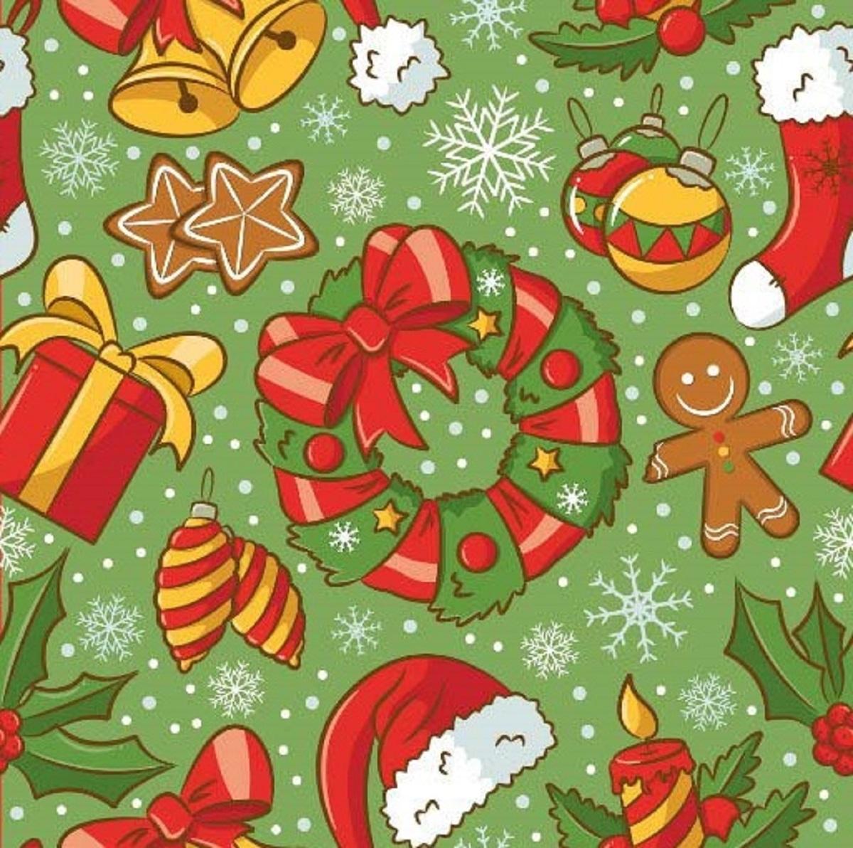 Салфетки бумажные Gratias Рождество, цвет: зеленый, трехслойные, 33 х 33 см, 20 штAS 25Для бытового и санитарно-гигиенического назначения одноразового использования.